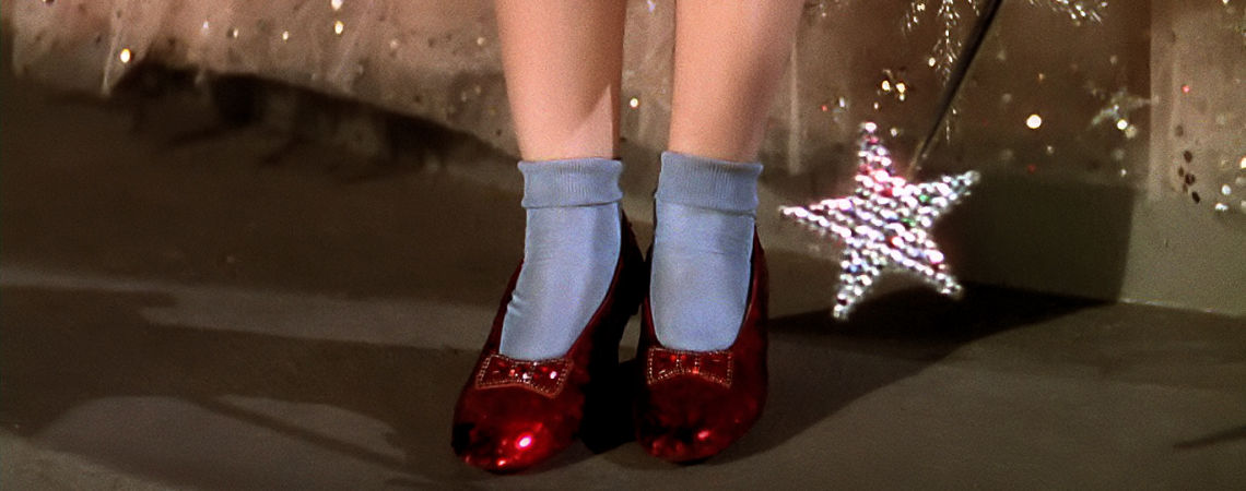 "The Ruby Slippers | ""The Wizard of Oz"" (1939)"