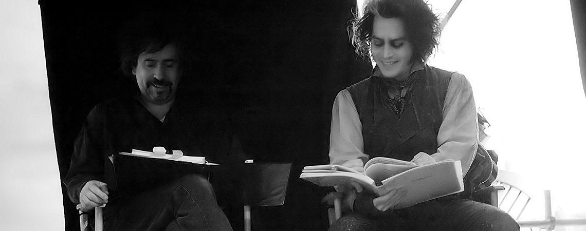 "Tim Burton, Johnny Depp | ""Sweeney Todd: The Demon Barber of Fleet Street"" (2007)"