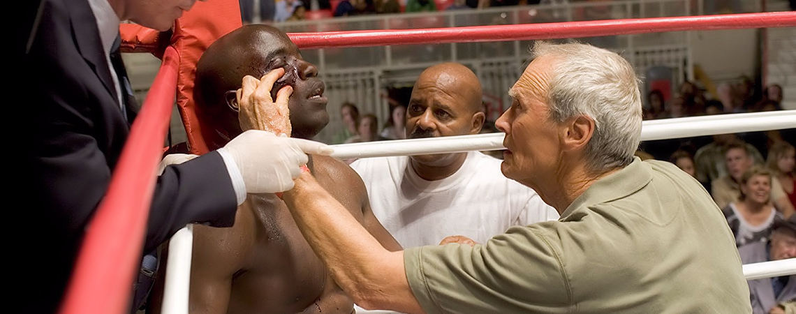 "Clint Eastwood, Mike Coulter | ""Million Dollar Baby"" (2004) *"
