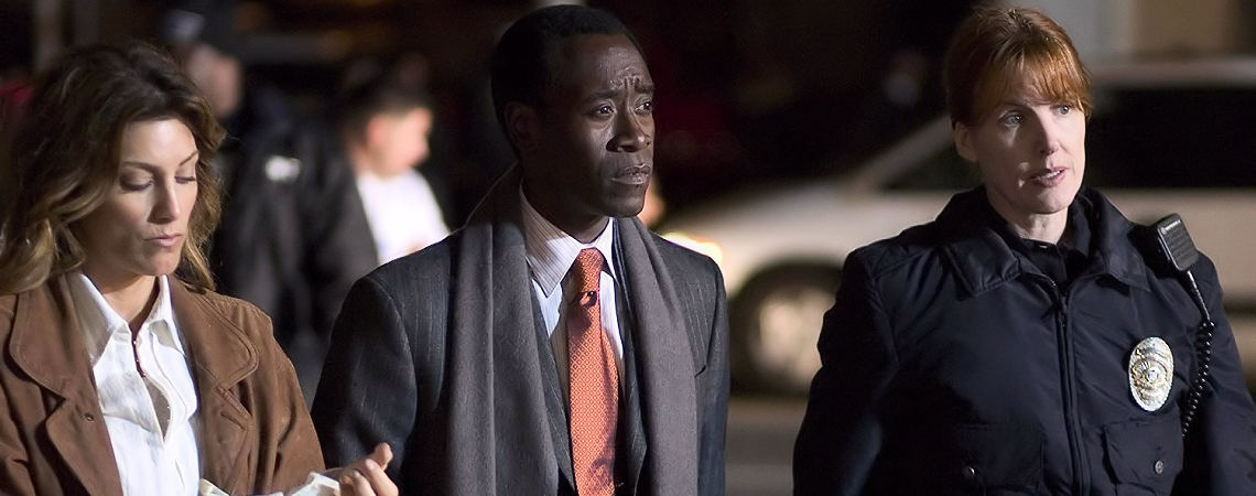 "Don Cheadle, Jennifer Esposito, Kathleen York | ""Crash"" (2005)"