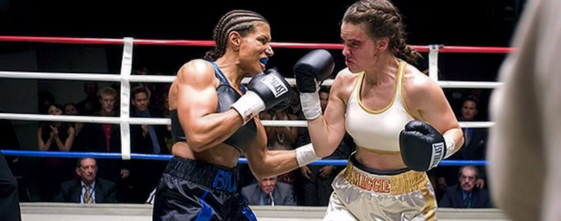 "Hilary Swank, Lucia Rijker | ""Million Dollar Baby"" (2004)"
