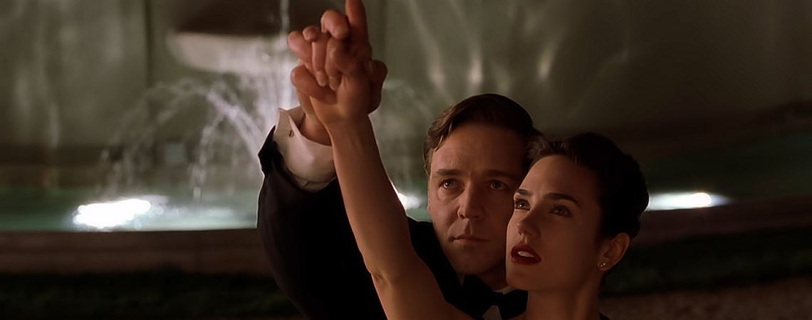 "Russell Crowe, Jennifer Connelly | ""A Beautiful Mind"" (2001) *"