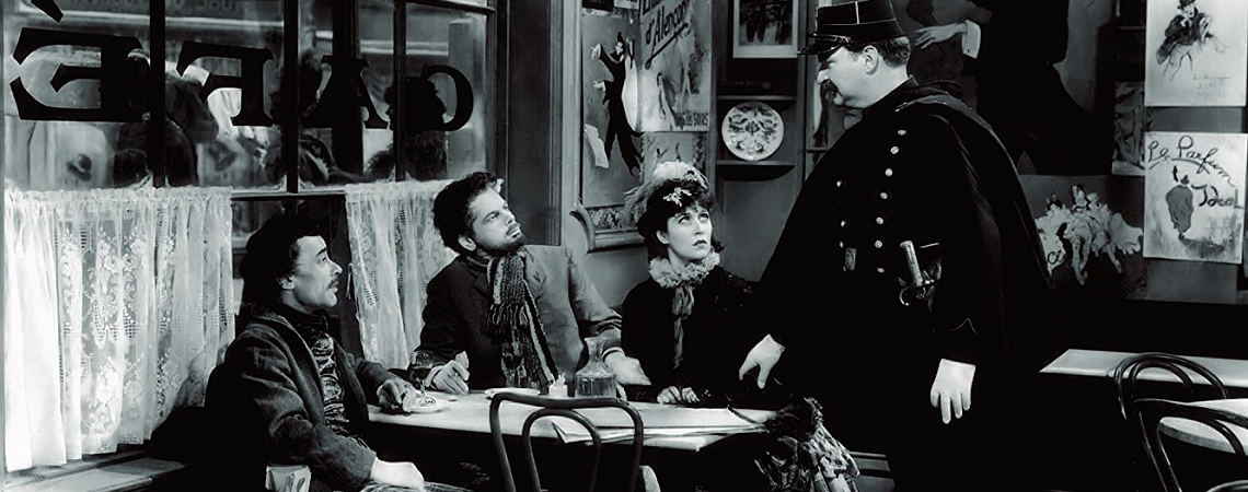 "Gloria Holden, Paul Muni, Vladimir Sokoloff | ""The Life of Emile Zola"" (1937) *"