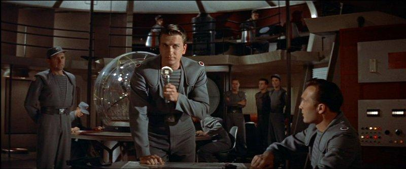 "Leslie Nielsen, Jack Kelly, Warren Stevens | ""Forbidden Planet"" (1956)"