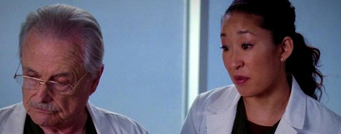 "William Daniels, Sandra Oh | ""Grey's Anatomy"" (2005)"