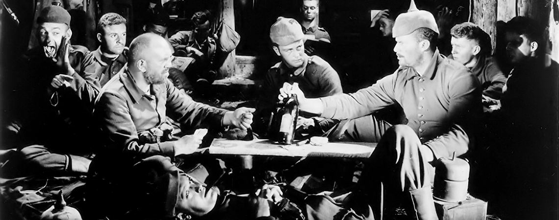 "Lew Ayres, Ben Alexander, G. Pat Collins, Scott Kolk, Slim Summerville, Louis Wolheim, John Wray | ""All Quiet on the Western Front"" (1930)"