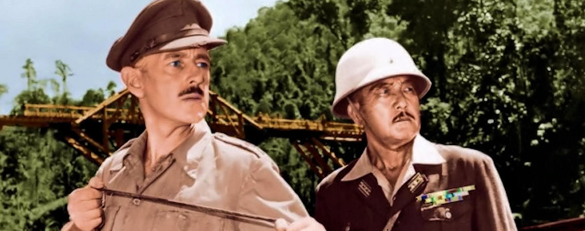 "Alec Guinness, Sessue Hayakawa | ""The Bridge on the River Kwai"" (1957)"