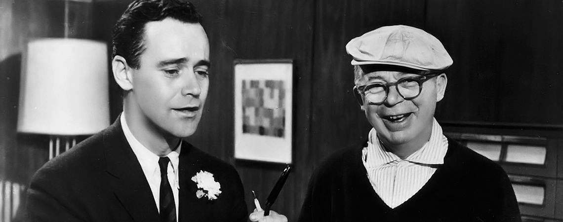 "Jack Lemmon, Billy Wilder | ""The Apartment"" (1960) *"