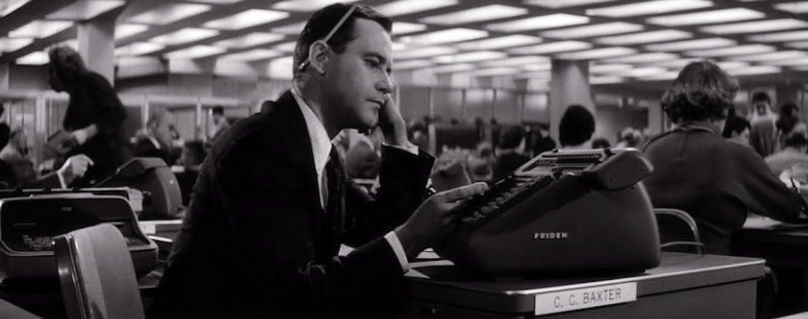 "Jack Lemmon | ""The Apartment"" (1960)"
