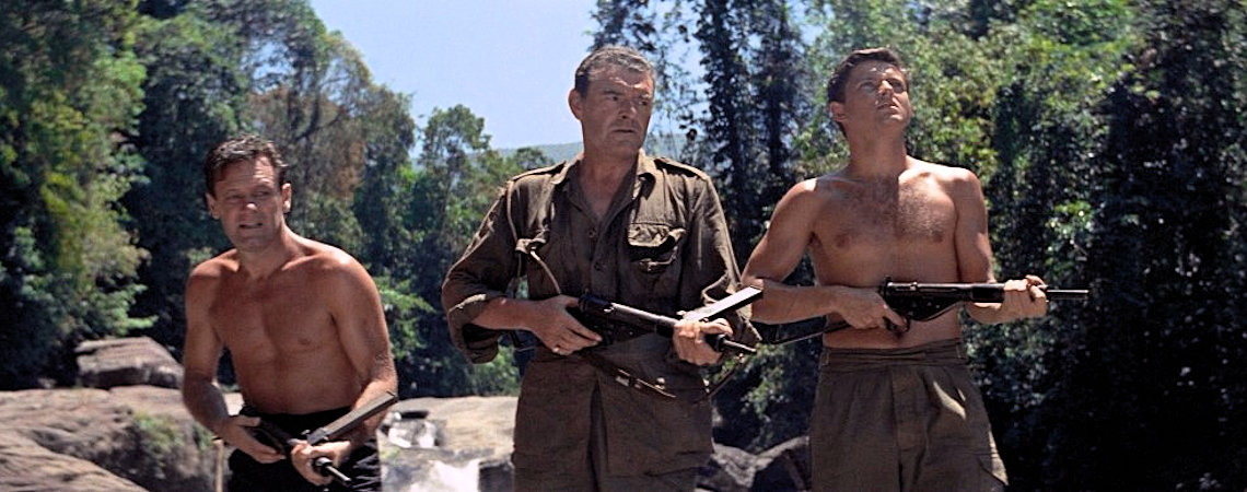 "William Holden, Jack Hawkins, Geoffrey Horne | ""The Bridge on the River Kwai"" (1957)"