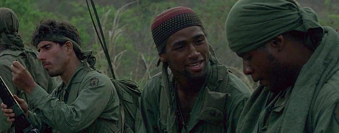 "Ivan_Kane, Reggie Johnson, Forest Whitaker | ""Platoon"" (1986)"