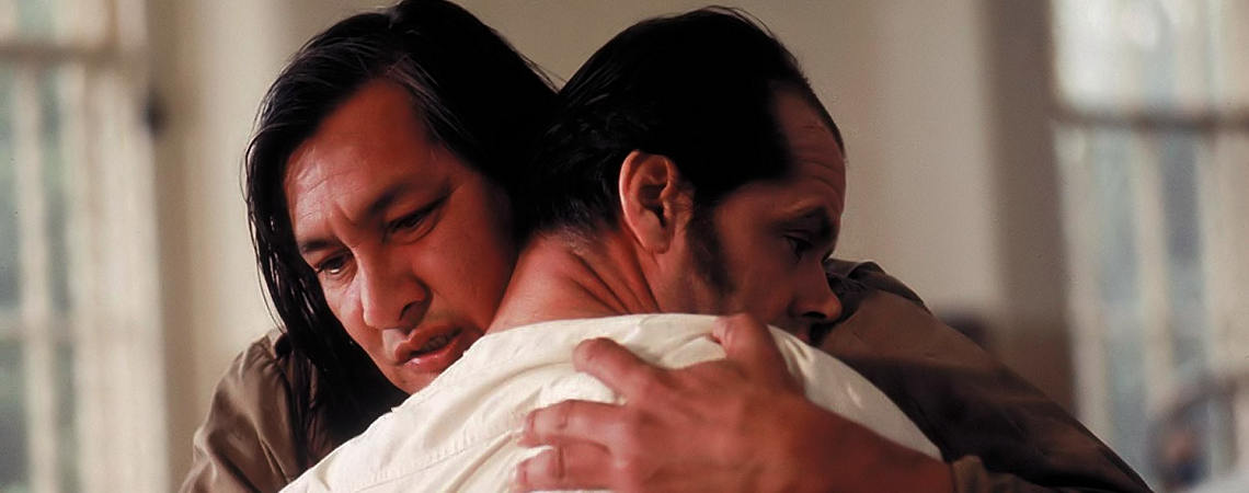 "Will Sampson, Jack Nicholson | ""One Flew Over the Cuckoo's Nest"" (1975)"