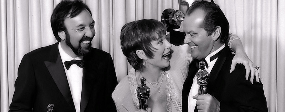 "James L. Brooks, Jack Nicholson, Shirley MacLaine | ""Terms of Endearment"" (1983)"