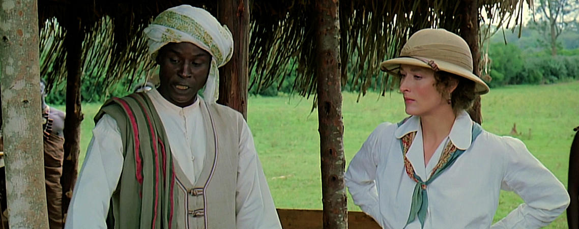 "Malick Bowens, Meryl Streep | ""Out of Africa"" (1985)"