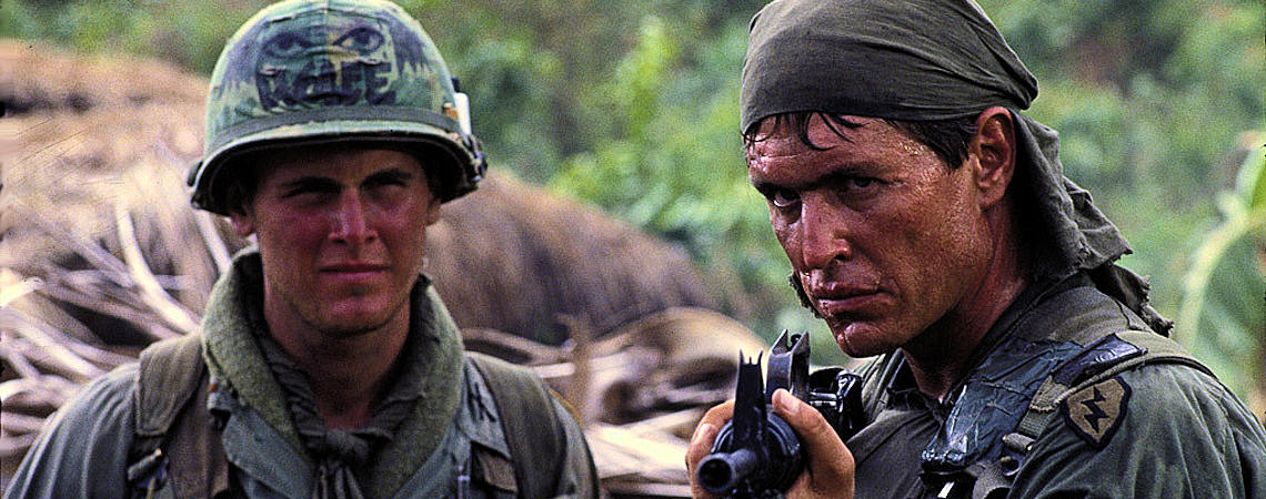 "Mark Moses, Tom Berenger | ""Platoon"" (1986) *"