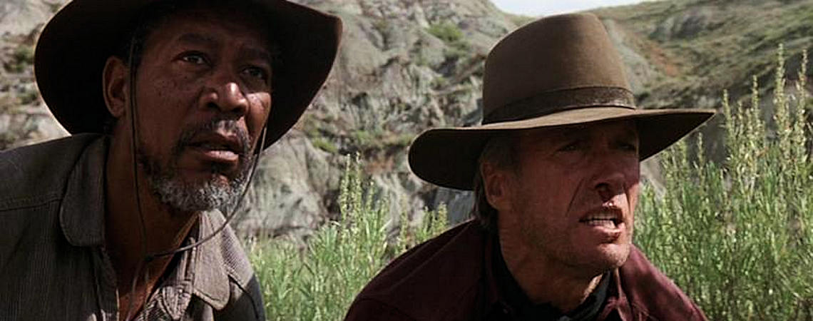"Morgan Freeman, Clint Eastwood | ""Unforgiven"" (1992)"
