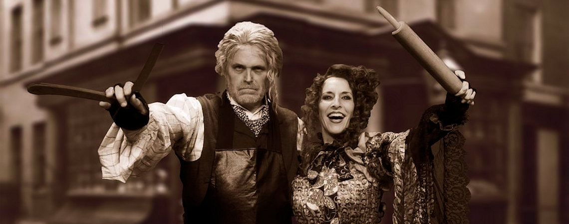 "Robert Newman, Penelope Alex - The Barn Theater| ""Sweeney Todd"""