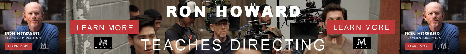 Ron Howard Masterclass on Directing