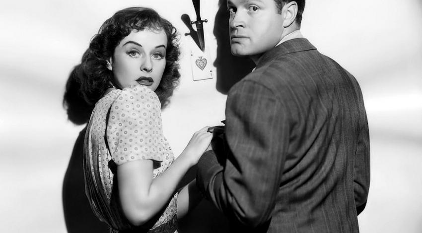 "Bob Hope, Paulette Goddard, Noble Johnson | ""The Ghost Breakers"" (1940)"