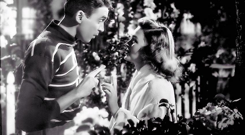 "James Stewart & Donna Reed | ""It's a Wonderful Life"" (1946)"