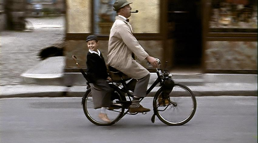 "Jacques Tati, Alain Bécourt | ""Mon oncle"" (1958)"