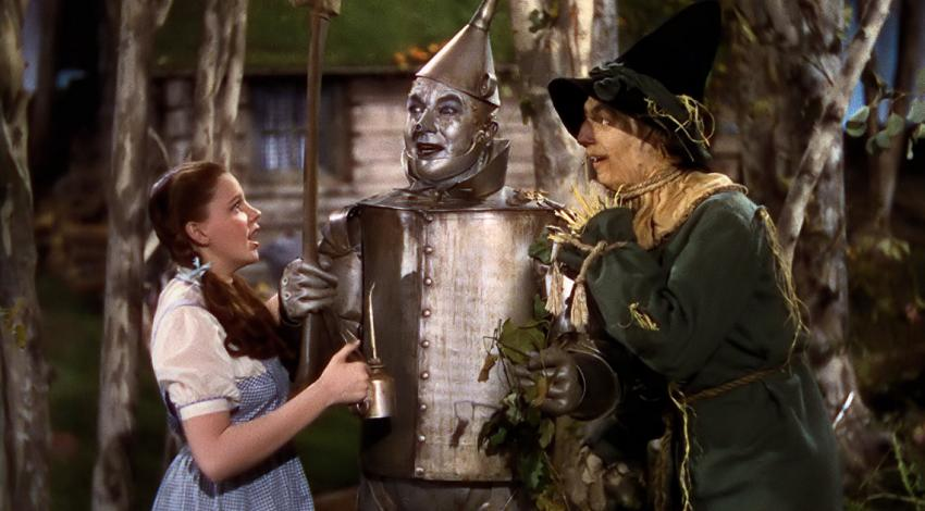 "Judy Garland, Jack Haley, Ray Bolger, Bert Lahr | ""The Wizard Oz"" (1939)"