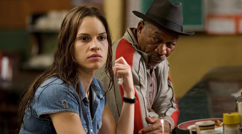 "Hilary Swank, Morgan Freeman | ""Million Dollar Baby"" (2004) *"