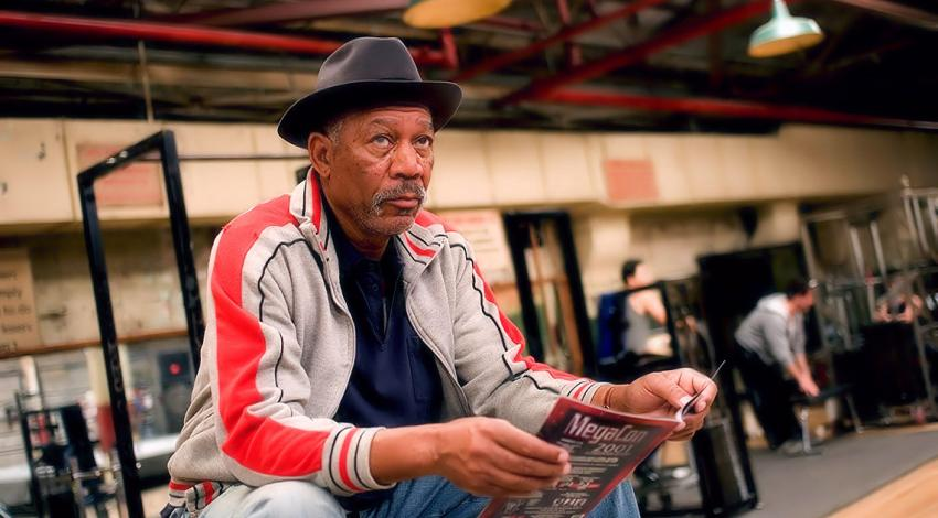 "Morgan Freeman | ""Million Dollar Baby"" (2004) *"