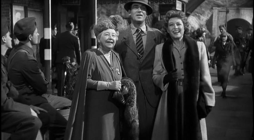 "Greer Garson, Dame May Whitty, Walter Pidgeon | ""Mrs. Miniver"" (1942)"