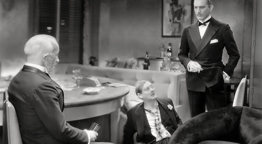 "John Barrymore, Lionel Barrymore, Lewis Stone | ""Grand Hotel"" (1932)"