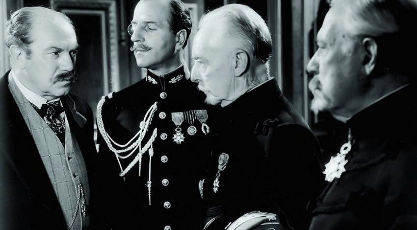 "Montagu Love, Harry Davenport, Louis Calhern, Ralph Morgan | ""The Life of Emile Zola"" (1937) *"