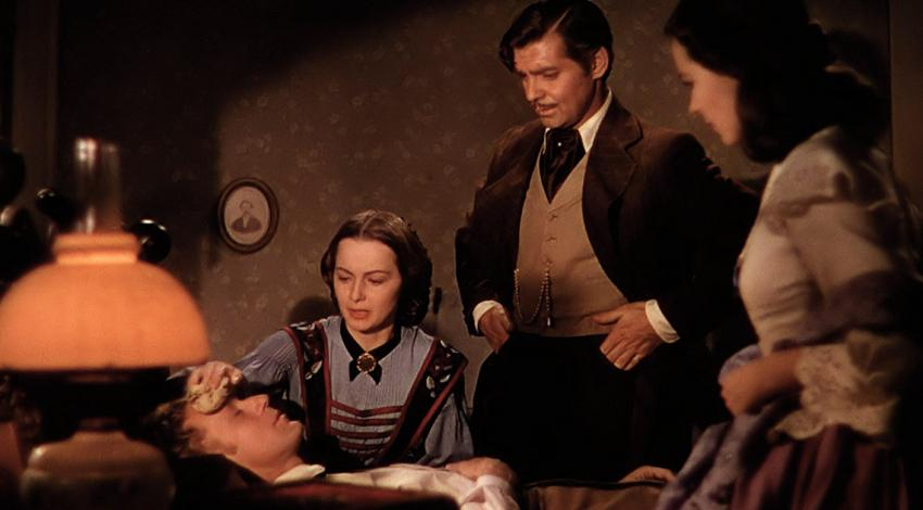 "Olivia de Havilland, Clark Gable, Vivien Leigh, Leslie Howard | ""Gone with the Wind"" (1939) *"