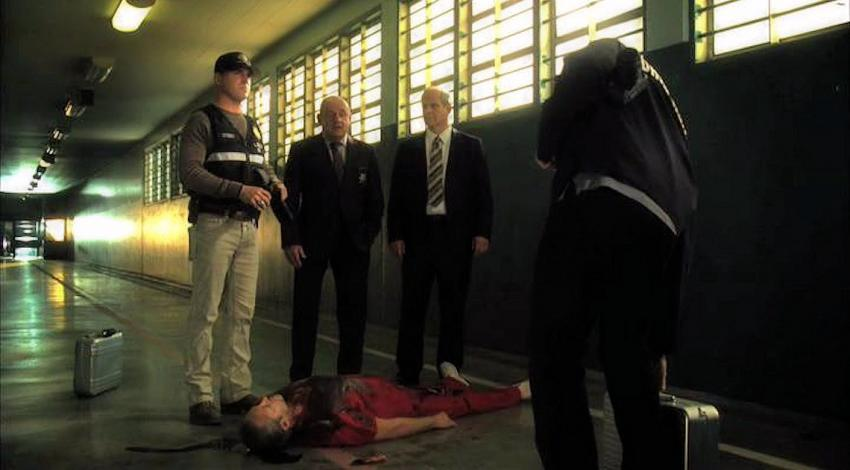 "Paul Guilfoyle, George Eads, Chris Ellis | ""CSI: Crime Scene Investigation"" (2000)"