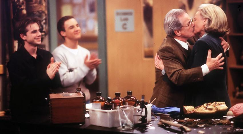 "Rider Strong, Ben Savage, William Daniels, Bonnie Bartlett | ""Boy Meets World"" (1993) **"