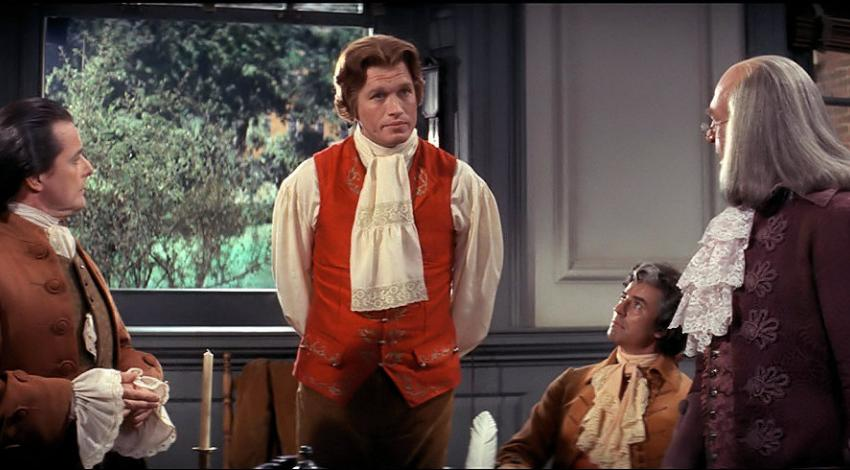 "William Daniels, Howard Da Silva, Ron Holgate, Ken Howard | ""1776"" (1972)  *"