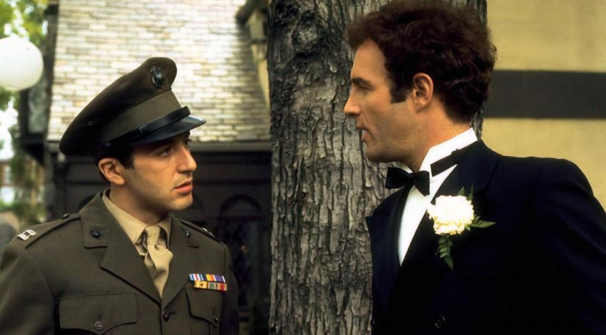 "Al Pacino, James Caan | ""The Godfather"" (1972)"