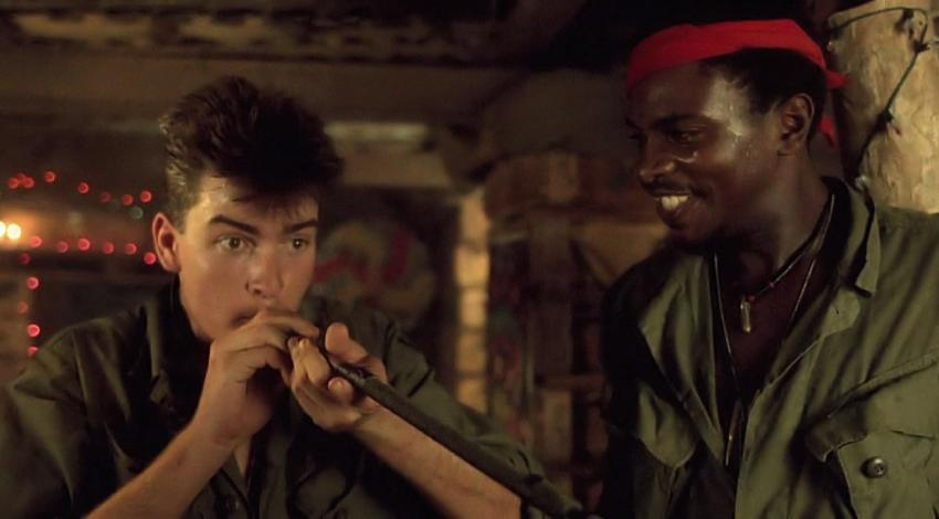 "Charlie Sheen, Keith David | ""Platoon"" (1986)"