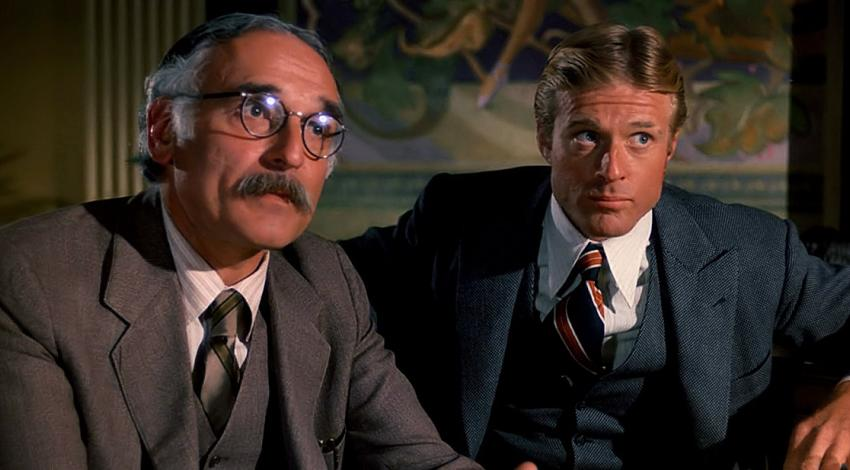 "Harold Gould, Robert Redford | ""The Sting"" (1973)"