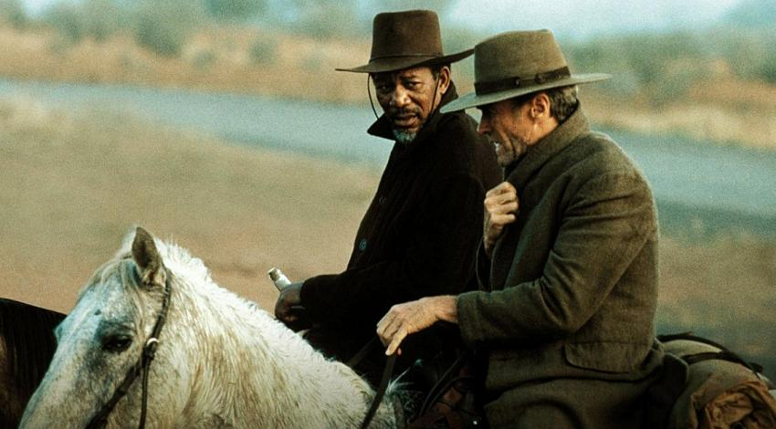 "Morgan Freeman, Clint Eastwood | ""Unforgiven"" (1992) *"