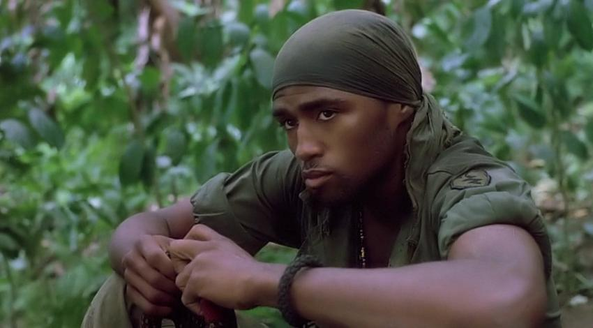 "Reggie Johnson | ""Platoon"" (1986)"