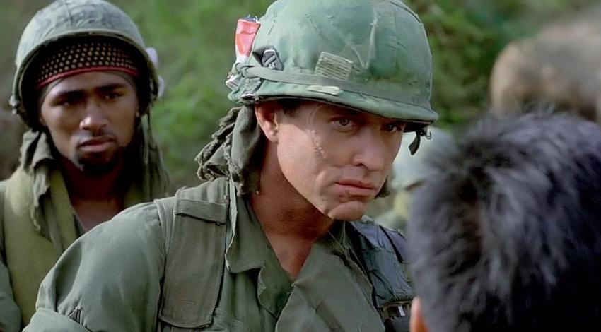 "Reggie Johnson, Tom Berenger | ""Platoon"" (1986)"