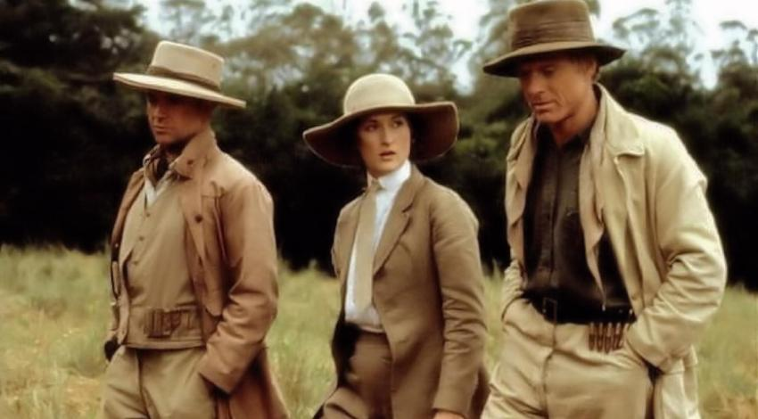 "Michael Kitchen, Meryl Streep, Robert Redford,  | ""Out of Africa"" (1985)"