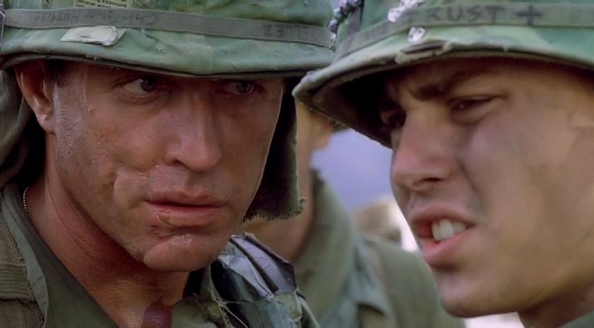 "Tom Berenger, Johnny Depp | ""Platoon"" (1986)"