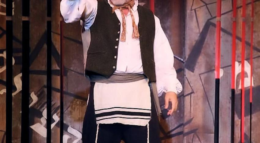 "Robert Newman as Tevye - The Barn Theater | ""Fiddler On The Roof"""
