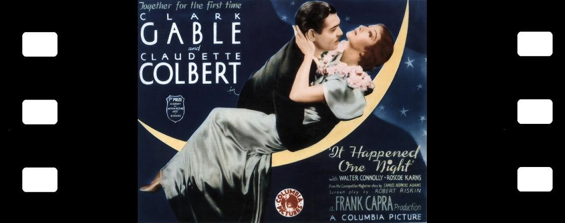"Clark Gable & Claudette Coubert | ""It Happened One Night"" (1934)"