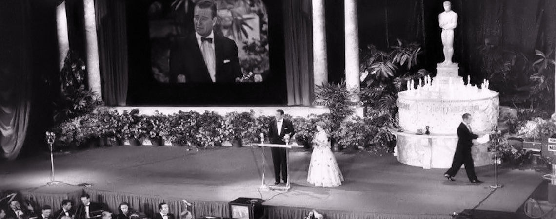 25th Academy Awards (1953) | John Wayne accepts Best Director Award for John Ford