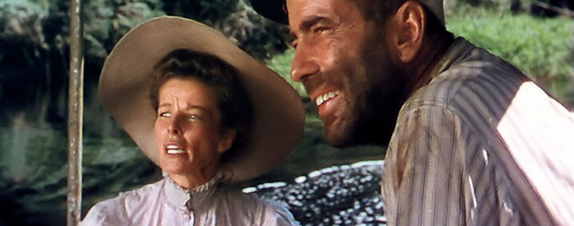 "Katharine Hepburn & Humphrey Bogart | ""The African Queen"" (1951)"