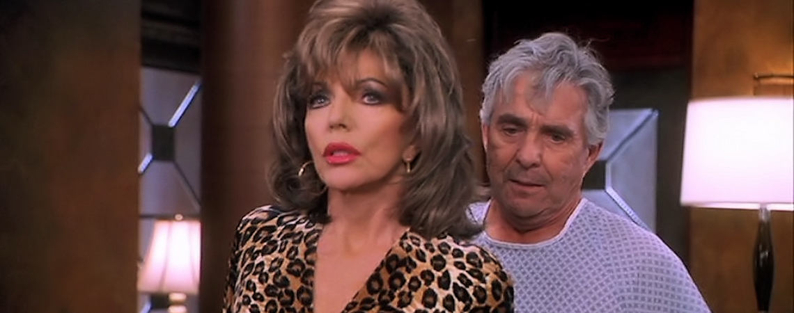 "Pat Harrington w/Joan Collins | ""These Old Broads"" (2001)"
