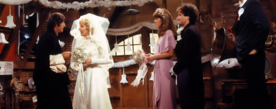 "Robert Donner w/Robin Williams, Pam Dauber, Georgia Engle, Jim Staahl | ""Mork & Mindy"" (1978-1982)"