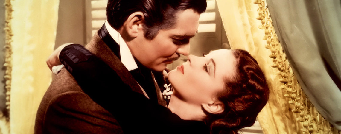 "Clark Gable w/Vivien Leigh | ""Gone with the Wind"" (1939)"